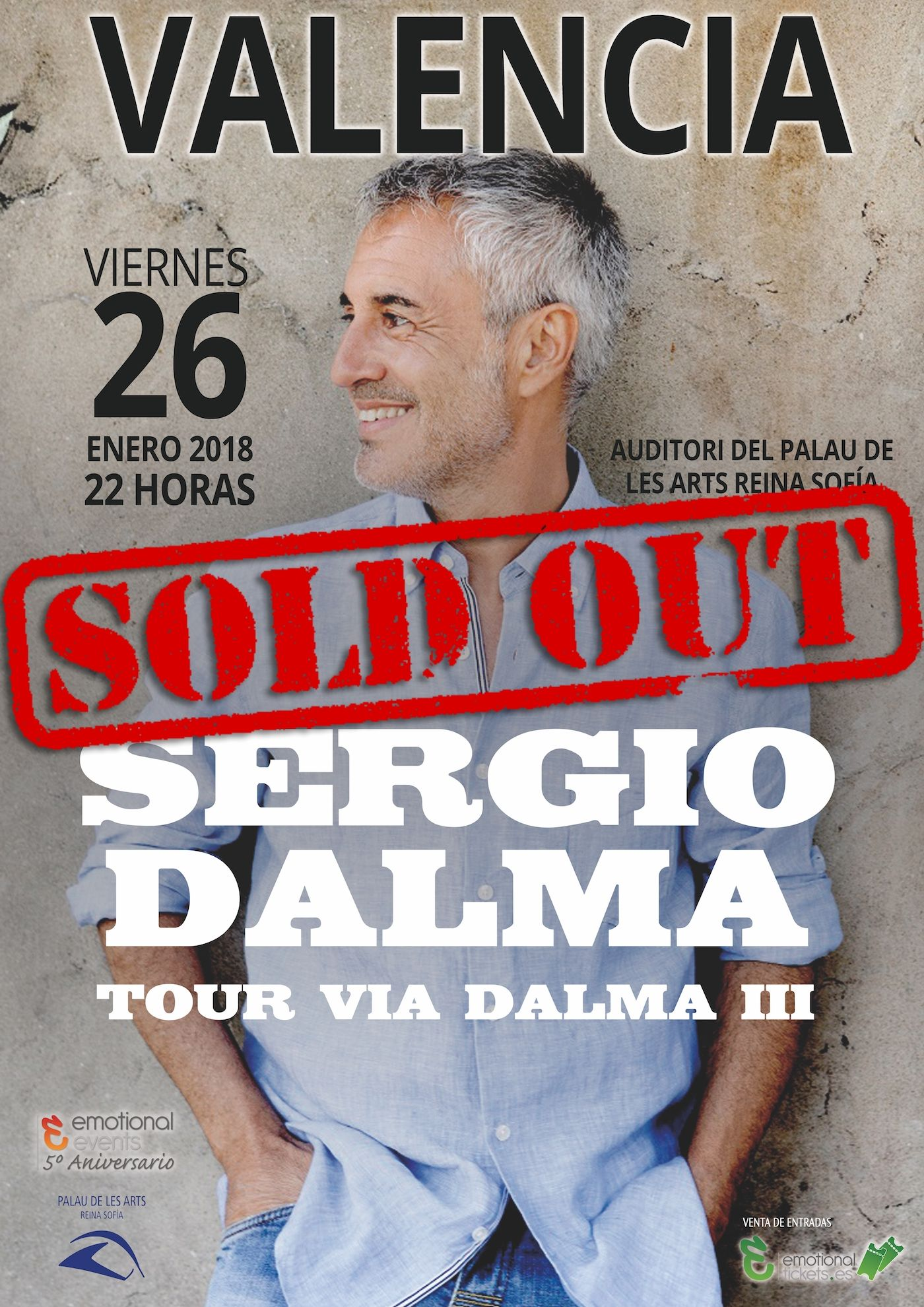 Sergio Dalma Gira Via Dalma Iii Emotional Events