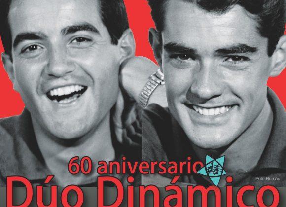 DUO DINAMICO gira 2019. 60 ANIVERSARIO. IMAGEN OFICIAL