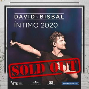 Cartel DAVID Bisbal soldout