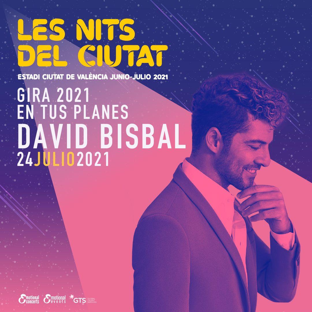 David Bisbal valencia 2021
