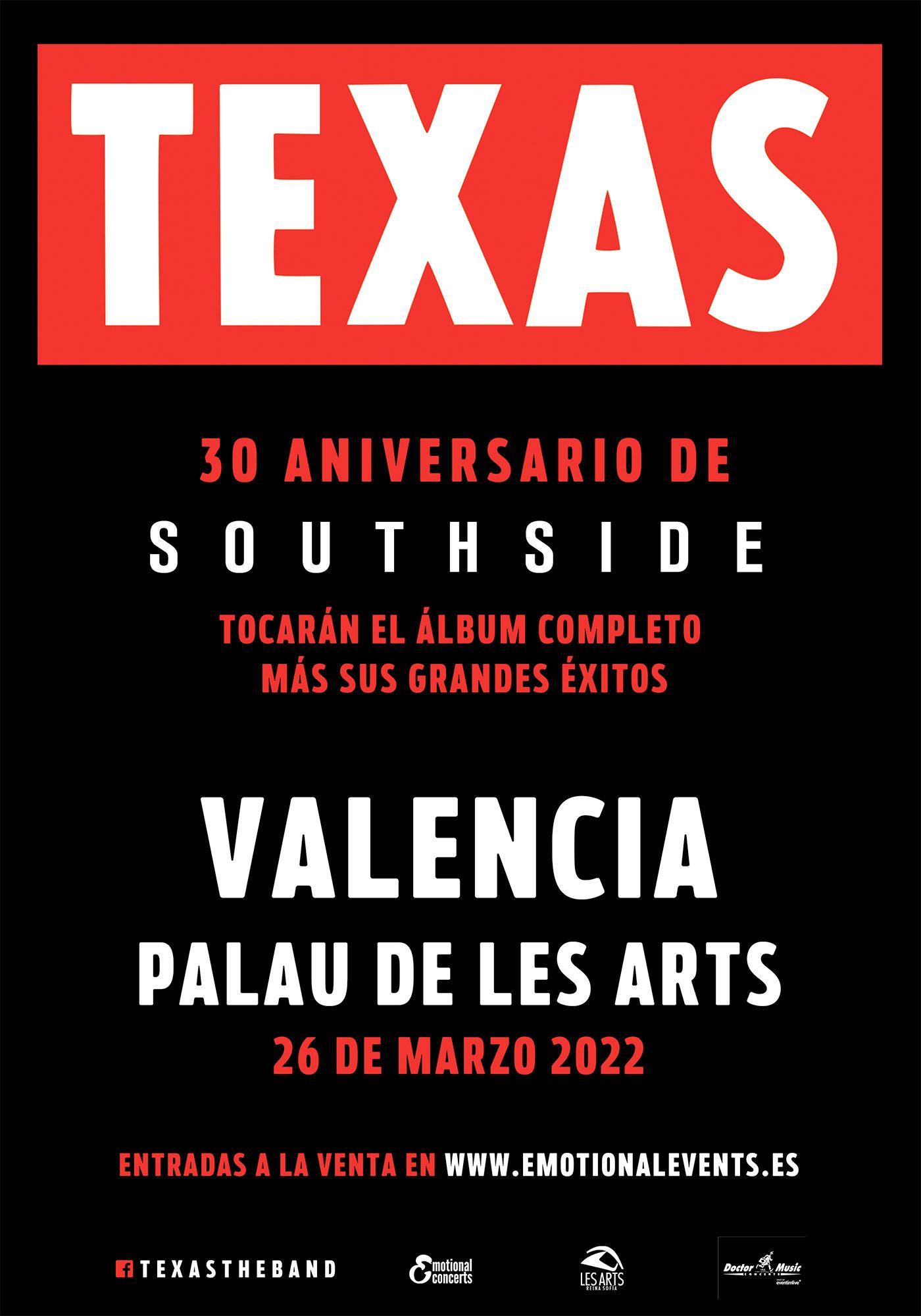 concierto texas valencia 2022